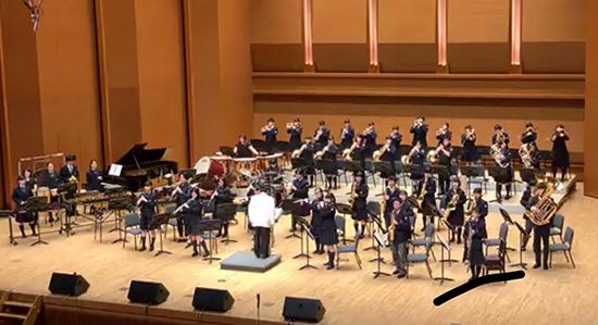 吹奏楽部、東京国際音楽祭2019で熱演