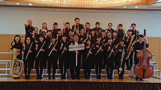 吹奏楽部 東関東代表として出場した東日本大会で金賞受賞
