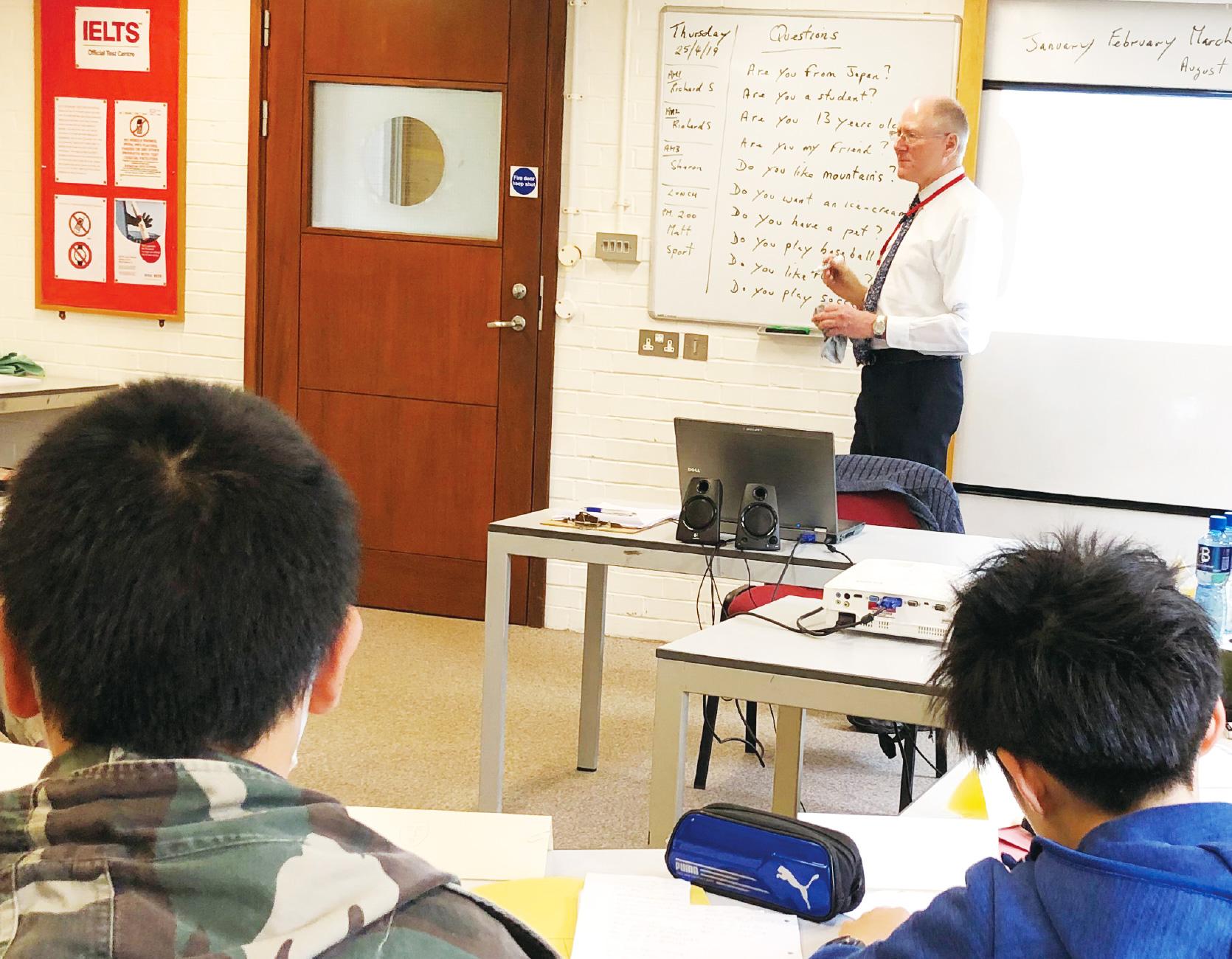 秀明八千代の英語教育のイメージ写真