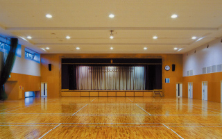 講堂兼体育館(スポーツセンター1・2階)