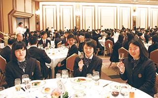 卒業記念昼食会